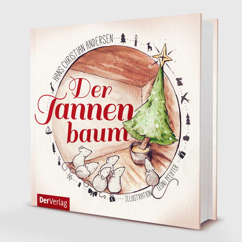 """Buchcover für """"Der Tannenbaum"""" von Hans Christian Andersen"""
