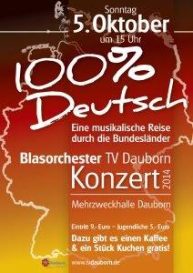 100% Deutsch - Eine musikalische Reise durch die Bundesländer