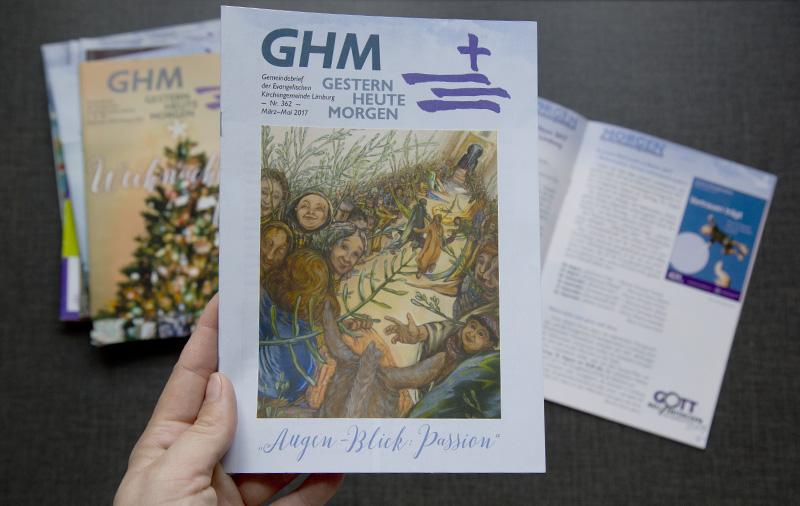 Der Gemeindebrief erscheint vier Mal im Jahr und wird in Limburg gedruckt.